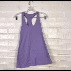 Lululemon Run Swiftly Racer Back Tank Purple